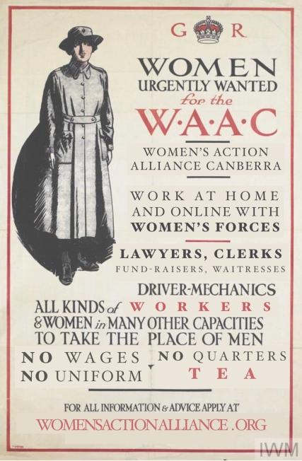 Women urgently wanted