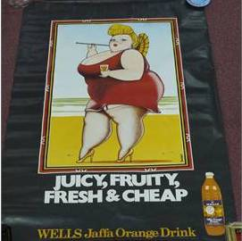 Wells ad juicy fruity fresh cheap